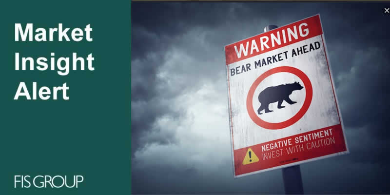 What is the most likely source and impact of the next downturn on asset prices?